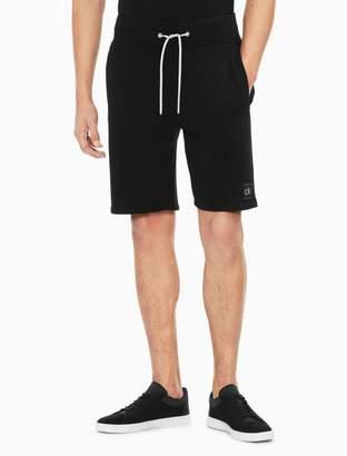Calvin Klein regular fit logo drawstring shorts