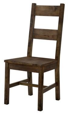 Furniture of America Belton I Rustic Oak Dining Chair