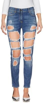 Elisabetta Franchi Denim pants - Item 42651716US