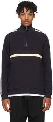 Harmony Navy Sofian Turtleneck