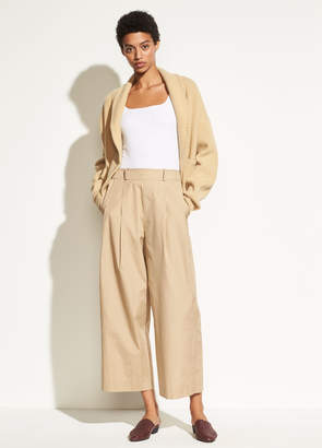 Wide Leg Cotton Pull On