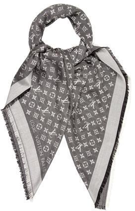 Louis VuittonLouis Vuitton Monogram Denim Shawl