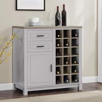 Better Homes & Gardens Better Homes and Gardens Langley Bay Wine Cabinet, Multiple Colors