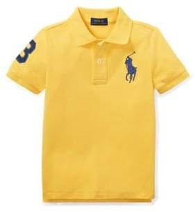 Ralph Lauren Childrenswear Little Boy's Kid's Cotton Mesh Polo Shirt
