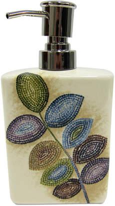 Croscill Bath Mosaic Leaves Lotion Pump Bedding