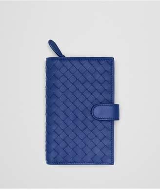 Bottega Veneta Continental Wallet In Desert Rose Intrecciato Nappa Leather
