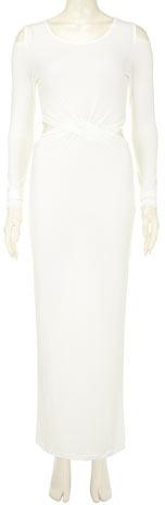 Dorothy Perkins Cream twist show maxi dress