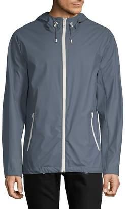 Cole Haan Men's Lined Hooded Jacket