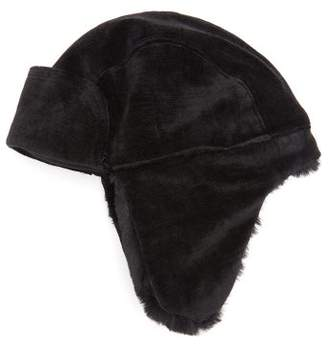 Avia Reinhard Plank Hats Faux Fur Lined Aviator Hat - Womens - Black