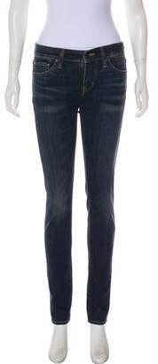 Ralph Lauren Mid-Rise Skinny Jeans