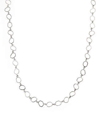 N. Ron Hami Sterling Silver Geo Necklace