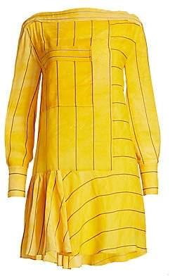 3.1 Phillip Lim Women's Stripe Boatneck Dress