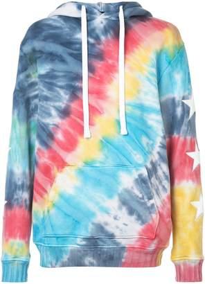 Amiri tie dye star hoodie