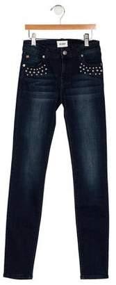 Hudson Girls' Low-Rise Skinny Jeans