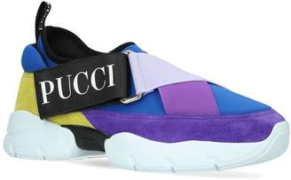 Pucci City Cross Low-top Sneakers