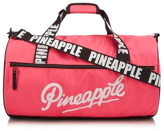 Pineapple Girls' Pink Barrel Bag