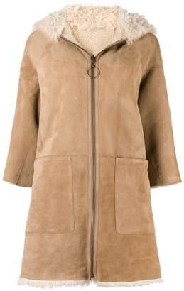 MiH Jeans Osten reversible shearling coat