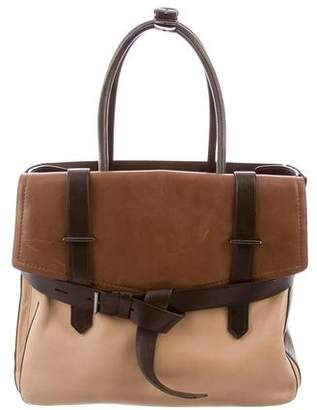 Reed Krakoff Tricolor Leather Boxer Bag