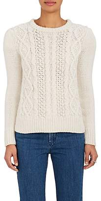 Co Women's Pearl-Embellished Wool-Cashmere Sweater