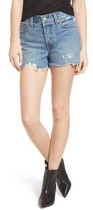 Levi's Wedgie High Waist Cutoff Denim Shorts (Snooze You Lose)