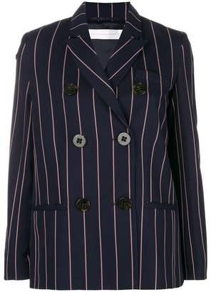 Victoria Beckham pinstripe double breasted blazer