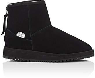 Suicoke Women's Sherpa-Lined Waterproof Suede Ankle Boots