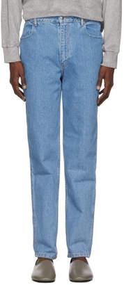 Eckhaus Latta Blue EL Jeans