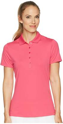 Callaway Opti-Dritm Micro-Hex Short Sleeve Polo Women's Short Sleeve Pullover