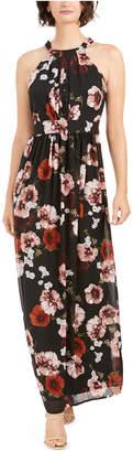 INC International Concepts I.n.c. Floral-Print Halter Maxi Dress