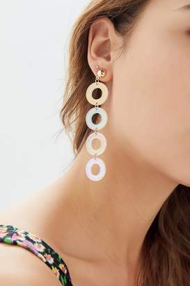 Urban Outfitters Aria Resin Drop Earring