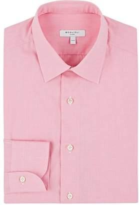 Boglioli MEN'S COTTON END-ON-END DRESS SHIRT - PINK SIZE 16