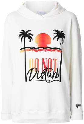Chiara Ferragni Do Not Disturb hoodie