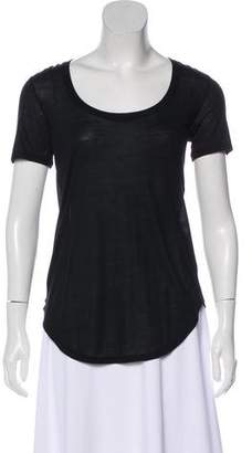 ATM Anthony Thomas Melillo Short Sleeve Scoop Neck Top w/ Tags