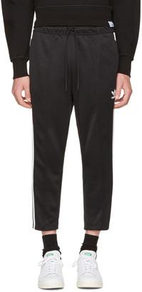 adidas Originals Black SST Crop Lounge Pants $75 thestylecure.com