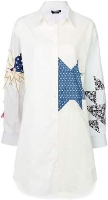 Calvin Klein star shirt dress