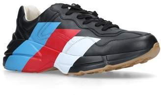 Gucci Rython Web Stripe Sneakers