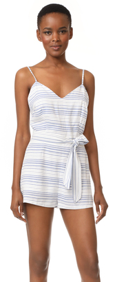 BB Dakota Gianna Striped Romper $90 thestylecure.com