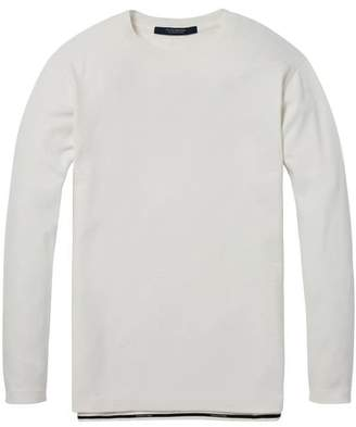 Scotch & Soda Structured Long Sleeved T-Shirt