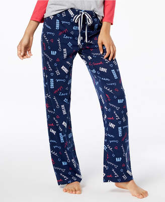 Jenni by Jennifer Moore Cotton Printed Pajama Pants