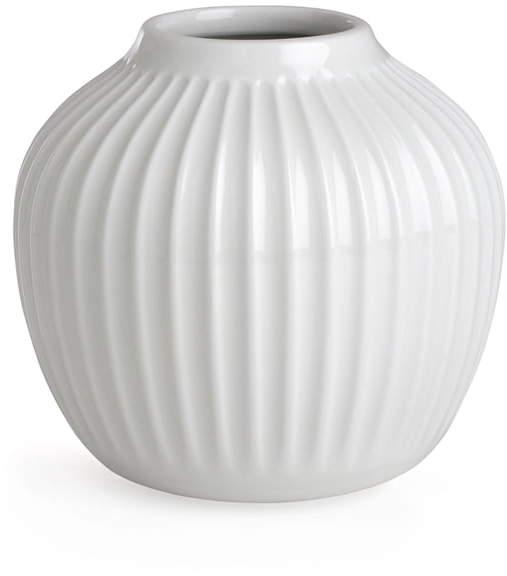 Kähler Design - Hammershøi Vase, H 12,5 cm / Weiß