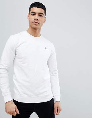 ONLY & SONS Sweat With Embroidered Ice Cream Logo