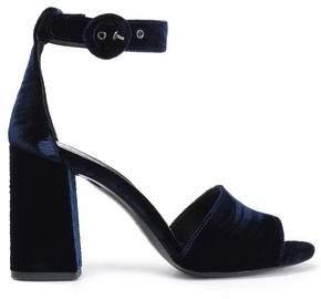 Claudie Pierlot Velvet Sandals