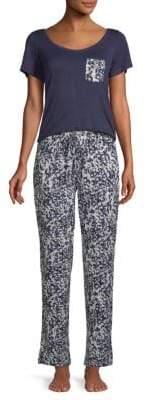 Catherine Malandrino Two-Piece Essential Pajama Set