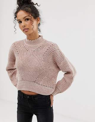 New Look hole detail jumper