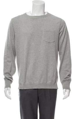Remi Relief Crew Neck High-Low Sweater