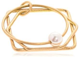 Lia Di Gregorio 3 Forme Ring W/ Pearl