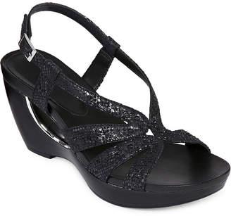 98eb137781e Andrew Geller Womens Ag Aaliyah Wedge Sandals