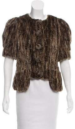 Anna Sui Faux Fur Jacket