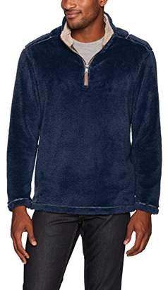 True Grit Men's Pebble Pile 1/4 Zip Pullover