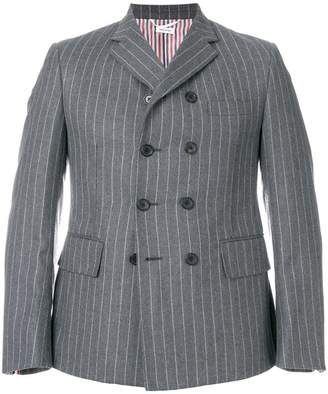 Thom Browne Chalk Stripe Pintuck Sport Coat